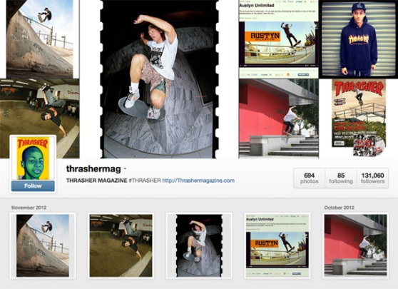 INSTAGRAM of the Week: Thrasher Magazine